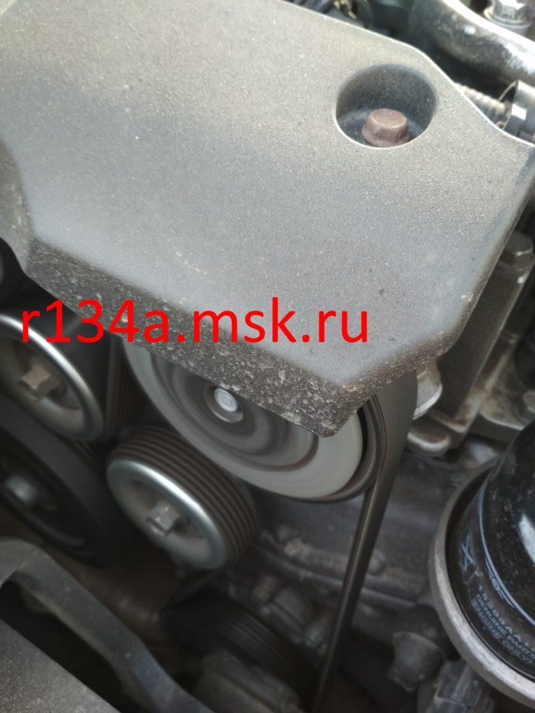 Ремонт компрессора автокондиционера на Хендай Солярис оборвался поршень