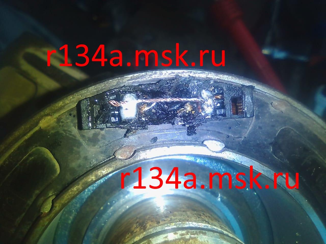 Ремонт муфты компрессора кондиционера у Опеля